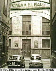 Antiguo cine en Bilbao, donde ha día de hoy se encuentra el frontón de la c/ Esperanza, en el Casco Viejo bilbaino