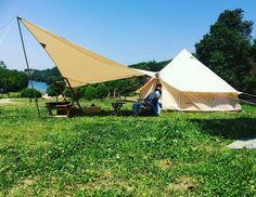 初めてにしては上出来かな。 初張りを無事に終えて ゴロゴロ。。。ええ天気や。 #outdoorlife #camping #camp #outingstylejp #キャンプ#キャンプ道具 #キャンプ初心者 #nordisk #karidiamond #asgard #アスガルド #ノルディスクカーリ #ファミキャン #diy #鹿ベンチ #お泊まりデビュー #初張り #今回はオークとウォルナットの無垢材でまとめてみた#鈴木権之助商店#門入の郷