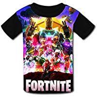 bbe30a981 Custom Kids Fort-Nite Heros Dilly Tee Shirt T-Shirts for Children Boys Girls