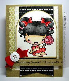 Annie Rose Makes Things: {Sending Sweet Thoughts}