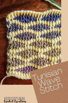 Tunisian Crochet Stitches, Crochet Blanket Patterns, Knitting Patterns Free, Knit Patterns, Knit Crochet, Unique Gifts, Best Gifts, Pineapple Crochet, Awesome