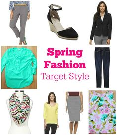 Spring Fashion starts Monday! We're going to take 9 pieces and create 9 outfits! ‪#‎targetstyle‬ ‪#‎springfashion‬ ‪#‎fashionforwomenover40‬ ‪#‎spring‬