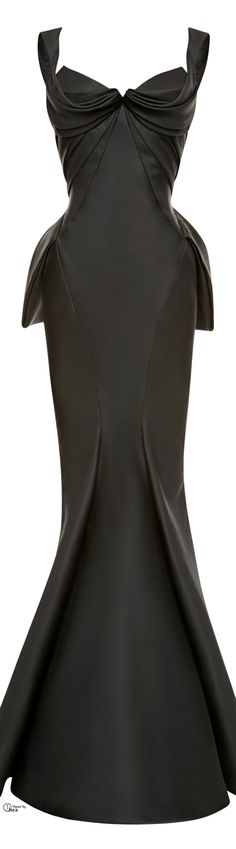Zac Posen ● FW 2014-15 batman dress...drool!