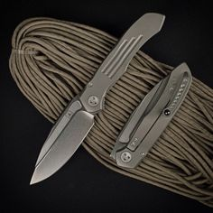 Marfione Custom Knives Anax TAD Edition | Bead Blast Finish on Handle and Pocket Clip