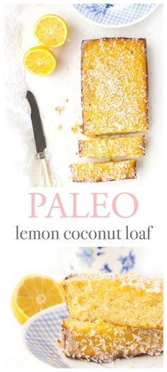 This gluten-free lemon coconut loaf is zesty, refreshing and so flavourful! Perf… This gluten-free lemon coconut loaf is zesty, refreshing and so flavourful! Perfect to serve as a light and healthier treat for Spring and Summer entertaining! Paleo Sweets, Paleo Dessert, Gluten Free Desserts, Gluten Free Recipes, Keto Recipes, Cooking Recipes, Healthy Recipes, Candida Recipes, Advocare Recipes