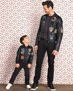 Like father like son. Discover the #MiniMe Collection for Spring 2017. #DGFamily  via DOLCE & GABBANA OFFICIAL INSTAGRAM - Celebrity  Fashion  Haute Couture  Advertising  Culture  Beauty  Editorial Photography  Magazine Covers  Supermodels  Runway Models