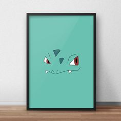 Een persoonlijke favoriet uit mijn Etsy shop https://www.etsy.com/nl/listing/603998063/ivysaur-pokemon-printed-canvas