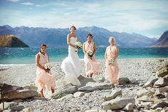 A beautiful vintage wedding in Wanaka with helicopter location shots in the mountains. The reception was at Edgewater Resort Edgewater Resort, Brides And Bridesmaids, Real Weddings, Reception, Wedding Photography, Bridal Parties, Party, Image, Beautiful