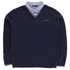Mens Jumpers, Pierre Cardin, Knitwear, V Neck, Athletic, Navy, Amazon, Jackets, Fashion