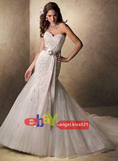 Neu Brautkleid Hochzeitskleid ABENDKLEID BALLKLEID Gr36/38/40/42/44/46/48/50 | eBay