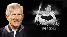 Johnny Pesky (1919-2012). I saw my dad cry, 1st time in my life I saw that.