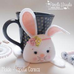Olá arteiras e arteiros! Hoje disponibilizo para vocês mais um molde bem fofinho. Que tal decorar sua mesa de café da manhã na Páscoa? Dar...
