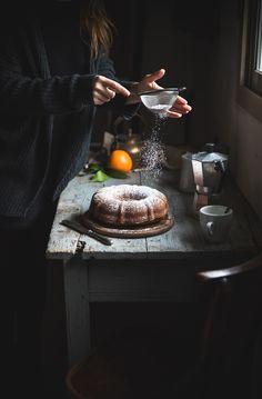 Ciambella alla ricotta e arancia- Ricotta orange bundt cake - Frames of sugar-Fotogrammi di zucchero