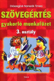 Marci fejlesztő és kreatív oldala: Szövegértés gyakorló munkafüzet 3. o Dyslexia, Preschool, Projects To Try, Writing, Education, Reading, Maya, Album, Pray