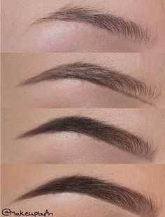 25 Step-by-Step Eyebrows Tutorials to Perfect Your Look 25 Step-by-Step Eyebrows Tutorials to Perfect Your Look ausformung bemalung maquillaje makeup shaping maquillage Eyebrow Makeup Tips, Skin Makeup, Beauty Makeup, Hair Beauty, Makeup Eyebrows, Eye Brows, Eyebrow Pencil, Eyebrows With Pencil, Draw On Eyebrows
