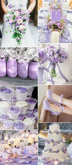 awesome rustic fresh orchid purple wedding color ideas for summer and fall