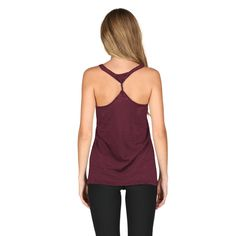 42436e1149 Women s chicka-d Maroon Arizona State Sun Devils Twisted Racerback Tank Top