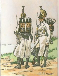French; Dragoons a Pied, Boulogne Camp, 1803