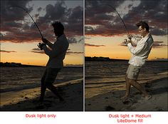 Enhancing Dusk Light in Outdoor Portraiture