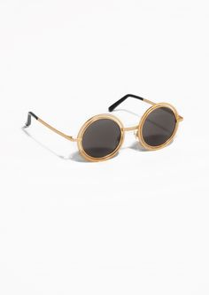 & Other Stories | Double Frame Metal Sunglasses.
