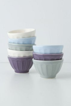 Mini Latte Bowls #anthropologie
