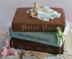 Cake for the story book lover or young boy (babies 1st b-day)