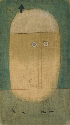 Paul Klee - Mask of Fear [1932]