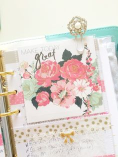 A personal favorite from my Etsy shop https://www.etsy.com/listing/230240677/planner-paperclip-handmade-rhinestone