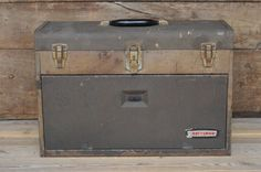 Vintage Machinist Cabinet Craftsman Tool Box by PageScrappers, $70.00