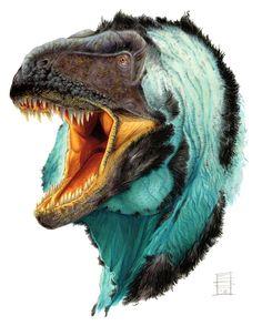 Horner's Frightful Lizard by Smnt2000 (Elia Lo Smeniot Smaniotto) | tyrannosaur Daspletosaurus horneri