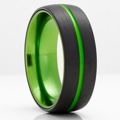 Green Tungsten Wedding Bands | Green Tungsten Wedding Rings – Clean Casting Jewelry Black Tungsten Rings, Tungsten Wedding Rings, Engraving Fonts, Laser Engraving, Custom Engraving, Black Wedding Rings, Black Rings, Victoria