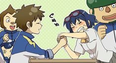 Read Con chi fai a braccio di ferro? from the story Anime Chibi, Art Anime, Football Anime, Inazuma Eleven Go, Wattpad, Cute Anime Couples, Me Me Me Anime, Funny Pictures, Fan Art