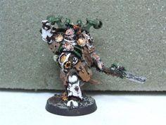 Warhammer 40K Chaos Space Marines FORGEWORLD Nurgle Sorcerer WY21 | eBay