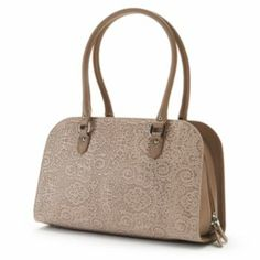 """PAVA Italian Leather Lace Tote! New and """"On Sale"""" now at: http://www.kohls.com/product/prd-1767494/pava-leather-lace-tote.jsp"""