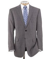 Men's Suits with White shirts and Black ties