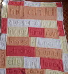 Ravelry: Child blanket pattern by Jody Pyott