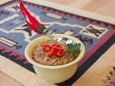 Refried Beans, servierbereit