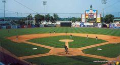 Whitaker Bank Ballpark, home of the Lexington Legends in Lexington KY.  Part of the SAL.