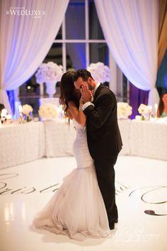 Creatively Glamorous Wedding Ideas - wedding reception; Photo: WHEN HE FOUND HER; Via Wedluxe;