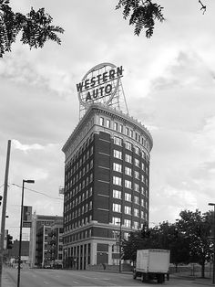 first real job out of high school, WAS main office for Western Auto company Kansas City Downtown, Kansas City Missouri, Urban Life, Lofts, Travel Posters, Great Photos, Great Places, Coca Cola, Places To Visit