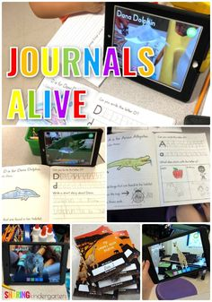 Journals Alive: Augmented Reality Journals for Little Learners - Sharing Kindergarten