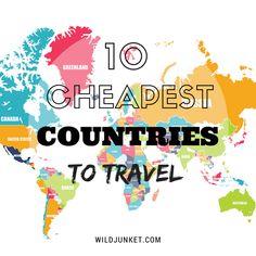 #BudgetTravel 10 Cheapest Countries to #Travel: (by rank) India, Moldova, Pakistan, Kazakhstan, Nepal, Ukraine, Georgia, Algeria, Azerbaijan, Colombia.