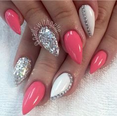 Pink & sparkly!