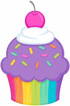 Cup cake By Lizz López Cartoon Cupcakes, Cute Cupcakes, Birthday Board, Birthday Wishes, Happy Birthday, Cupcake Drawing, Cupcake Art, Diy For Kids, Crafts For Kids