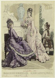 1875 Magasin des demoiselles. 51, rue Laffitte, Paris