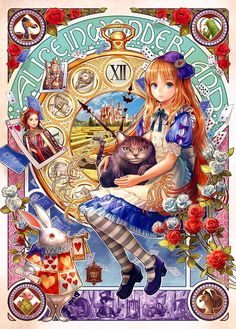 BUY 2 GET 1 FREE! Disney Princess Alice in Wonderland Art 090 Cross Stitch Pattern Counted Cross Stitch Chart, Pdf, Instant Download /148209 by icrossstitchpattern on Etsy