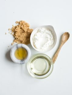 Brown Sugar Yogurt Mask | 4 Yogurt Mask Recipes