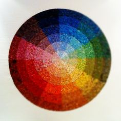 Color Wheel Mosaic