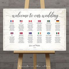 Seating chart travel theme wedding table plan with country flags of the world map destination wedding DIY printable DIGITAL by HandsInTheAttic Nagasaki, Wedding Tips, Wedding Events, Wedding Reception, Trendy Wedding, Wedding Stuff, Reception Ideas, Wedding Hair, Perfect Wedding