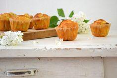 Ganz schnelles Rezept für saftige Rhabarber Muffins Rhubarb Muffins, Harvest, Fast Recipes, Oven
